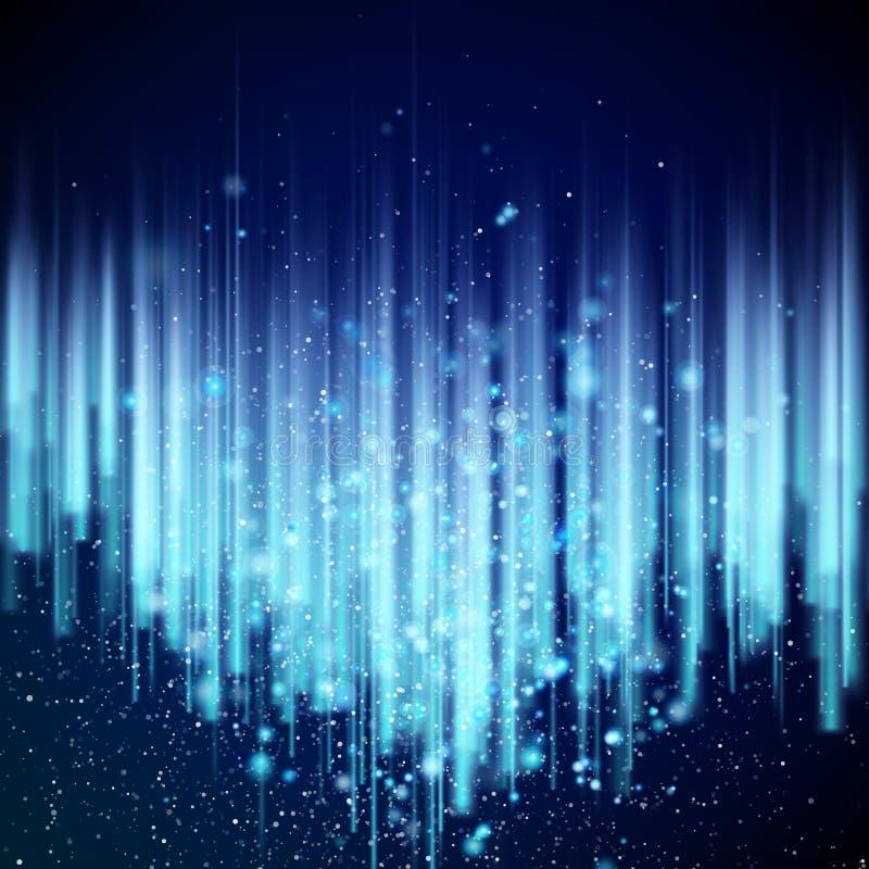 抽象蓝色背景 10 eps 向量例证