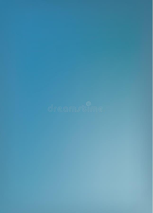 抽象蓝色被弄脏的背景。相当大,编辑可能的传染媒介forma 皇族释放例证