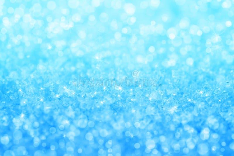 抽象蓝色水晶纹理背景 库存图片