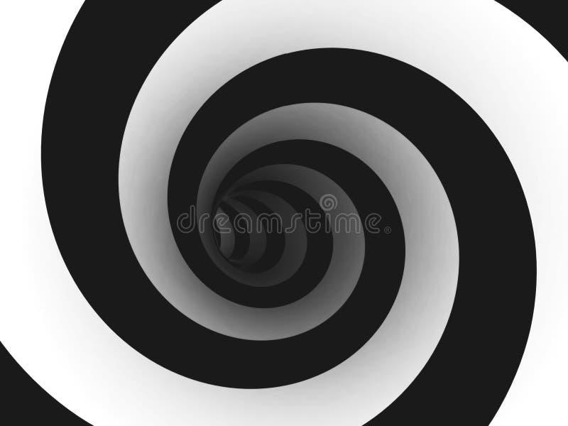 抽象螺旋 向量例证