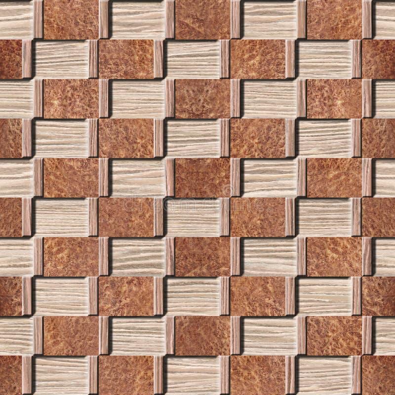 抽象装饰铣板-抨击的橡木凹线木头纹理 免版税库存照片