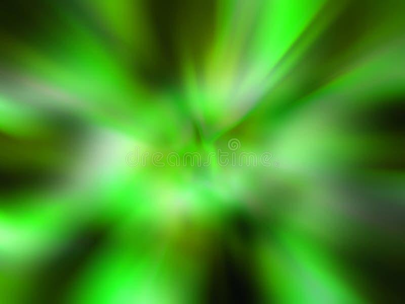 抽象计算机提高了照片 向量例证
