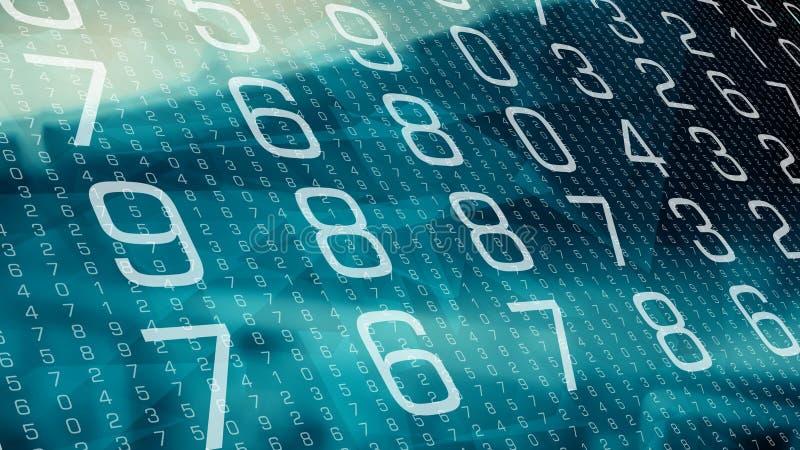 抽象计算机网络世界安全 库存例证