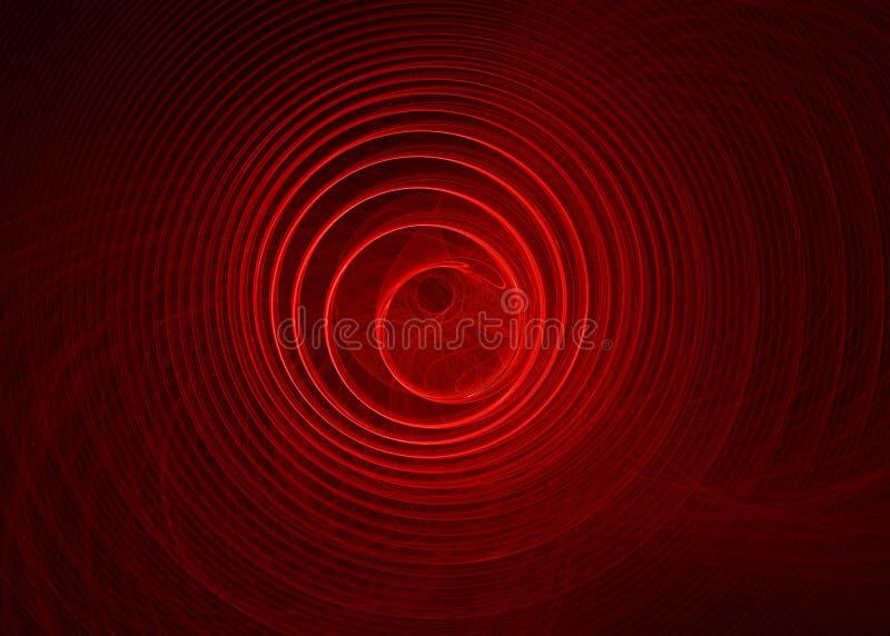 抽象设计红色 皇族释放例证