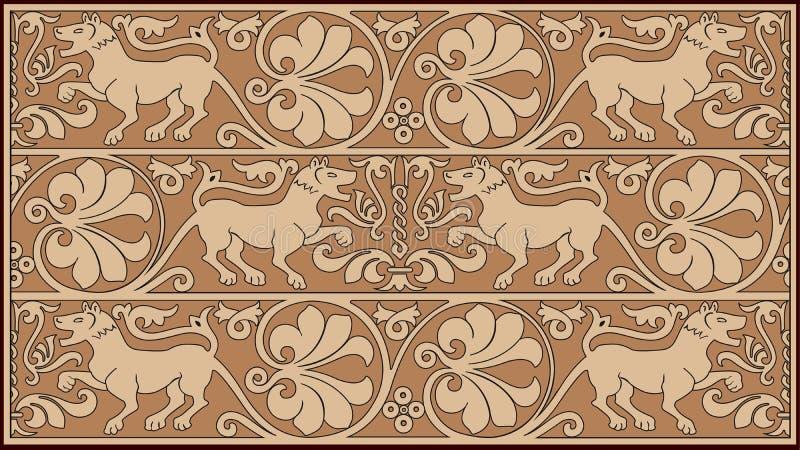 抽象设计装饰物 向量例证