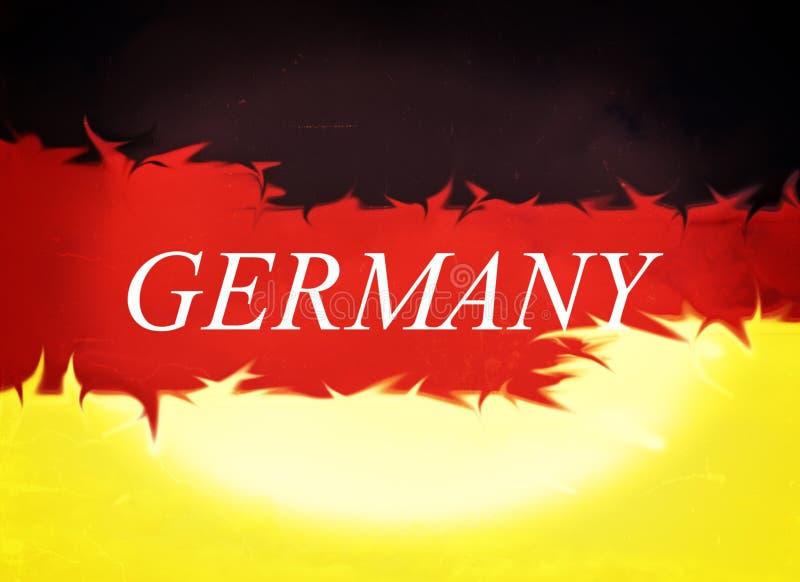 抽象设计,德国的旗子 皇族释放例证