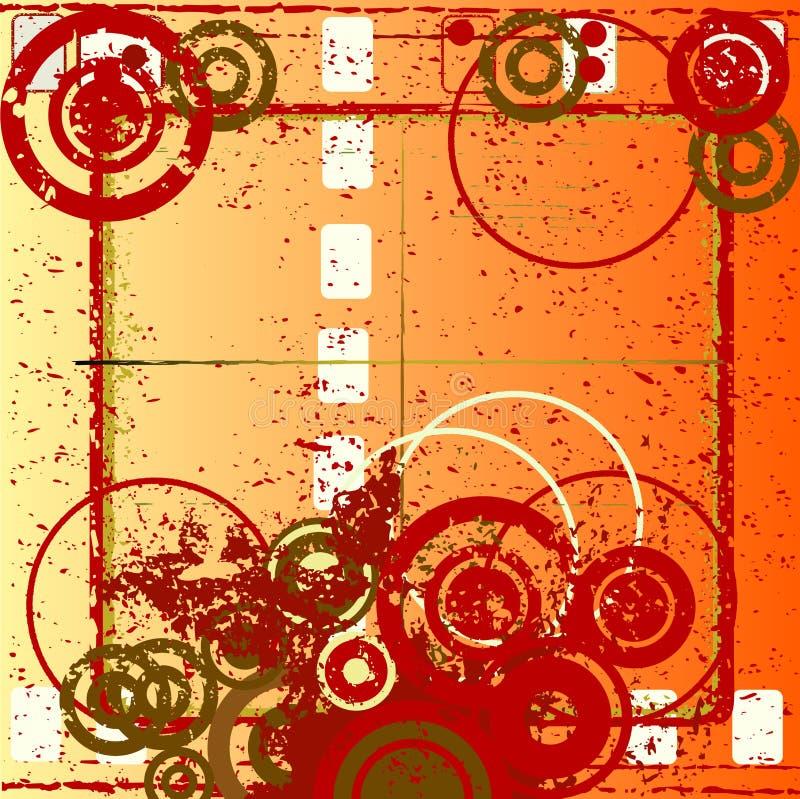 抽象设计grunge 向量例证