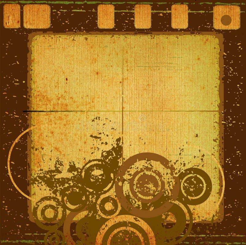 抽象设计grunge 皇族释放例证