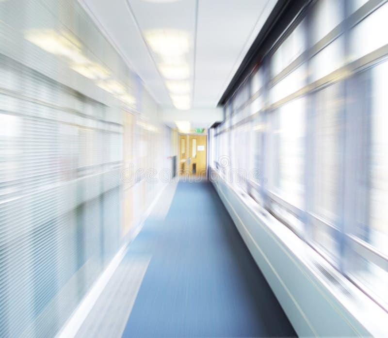 抽象走廊 免版税库存照片