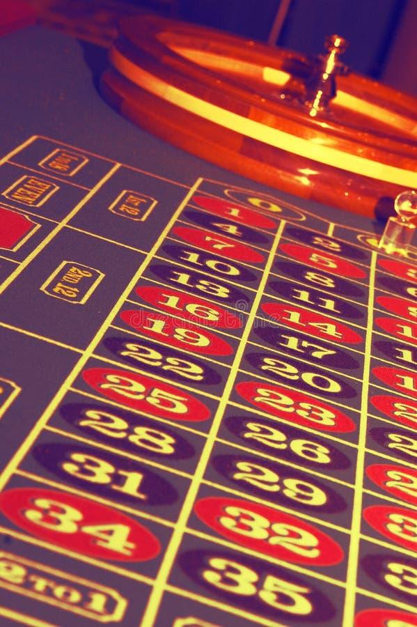 抽象轮盘赌表 库存图片