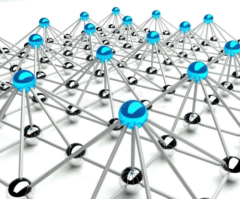 抽象通信构想层次结构 皇族释放例证