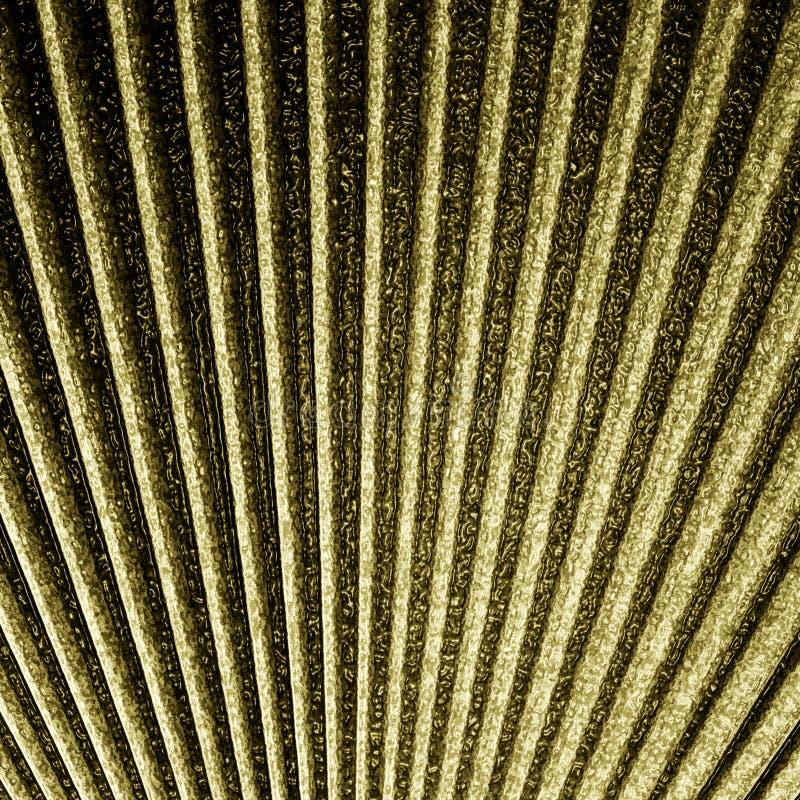 抽象金子纹理 库存例证