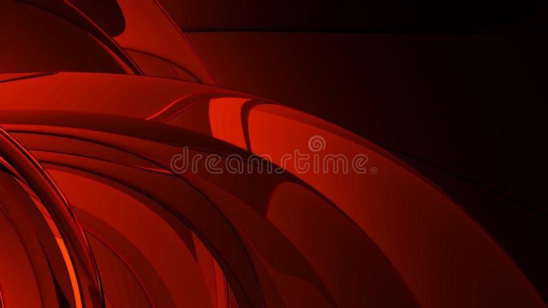 抽象金属红色 皇族释放例证
