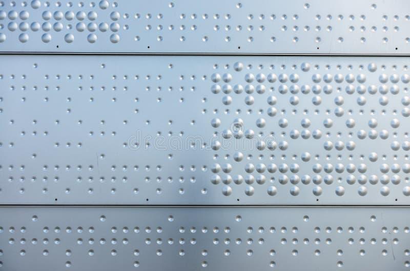 抽象金属纹理 免版税库存图片