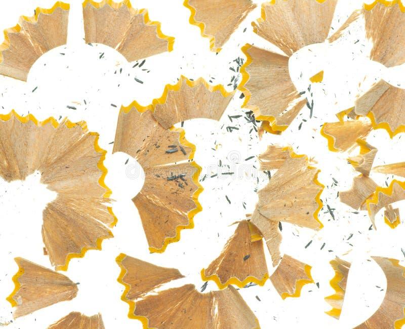抽象铅笔刮 图库摄影