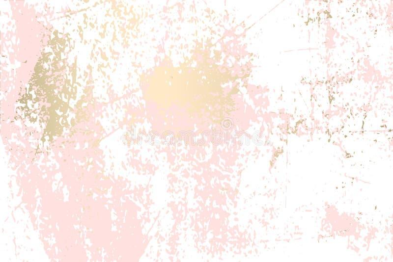 抽象难看的东西Pattina作用 向量例证