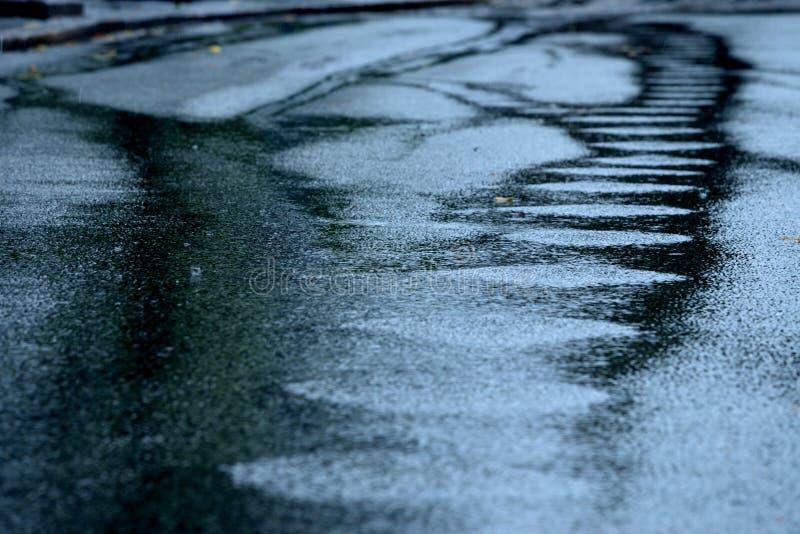 抽象雨 免版税库存图片