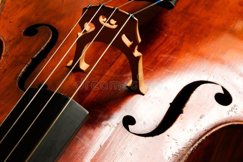 抽象音乐大提琴 库存照片