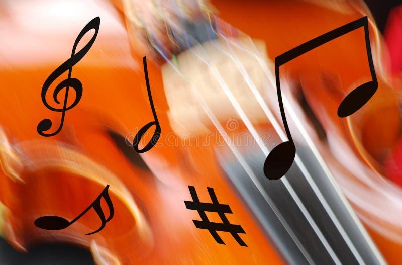抽象音乐 皇族释放例证