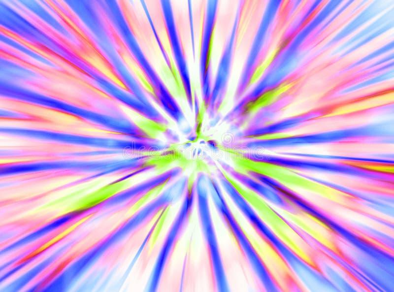 抽象颜色纹理 库存例证