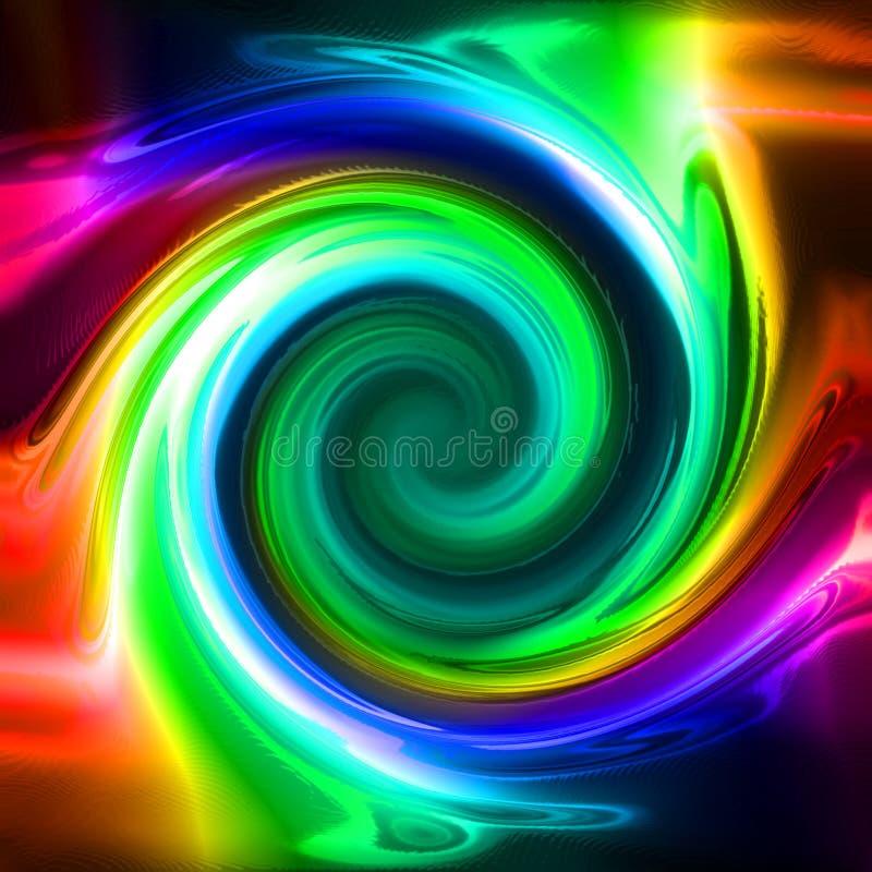 抽象颜色背景 向量例证