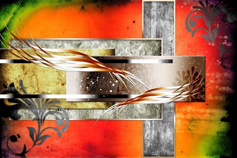 抽象颜色设计艺术例证滑稽的项目 向量例证