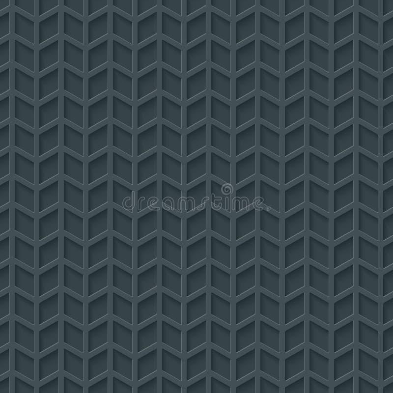 抽象高科技几何无缝的样式 皇族释放例证