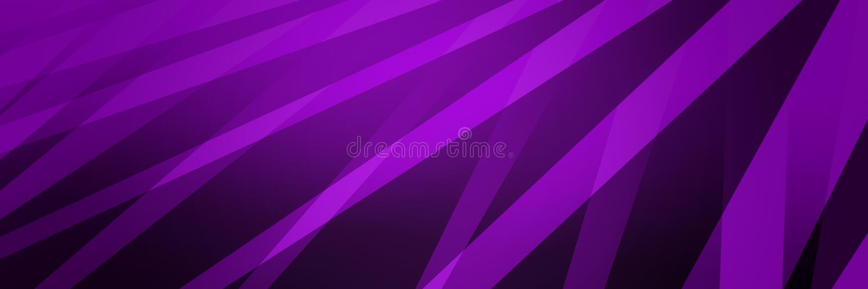 抽象黑、紫色背景、抽象带中斜线条、几何图案设计 免版税库存照片