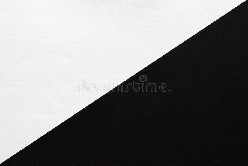 抽象黑白纸背景,纹理 库存照片