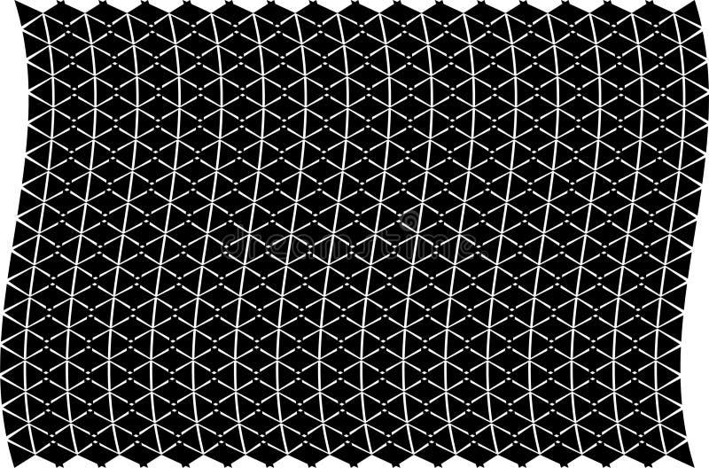 抽象黑背景纹理 半音作用 免版税库存照片