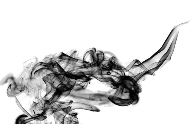 抽象黑色发怒在纹理白色 库存照片