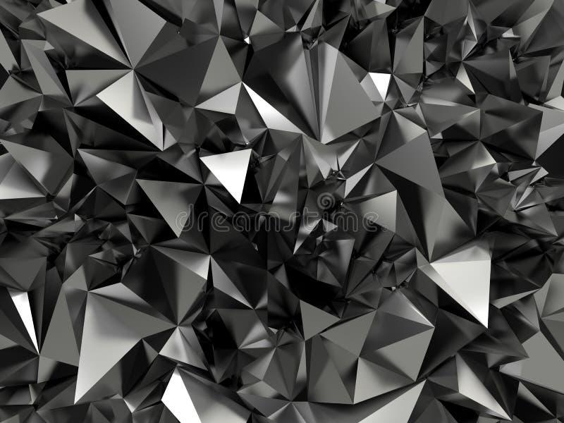抽象黑色明确的背景 皇族释放例证