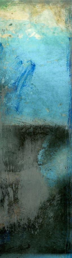 抽象黑色蓝色 免版税库存图片