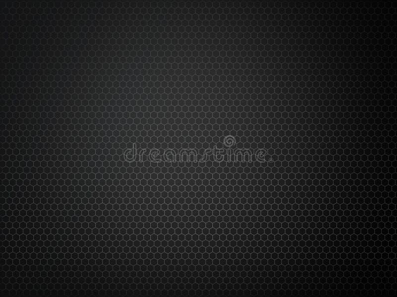 抽象黑金属栅格纹理 免版税图库摄影