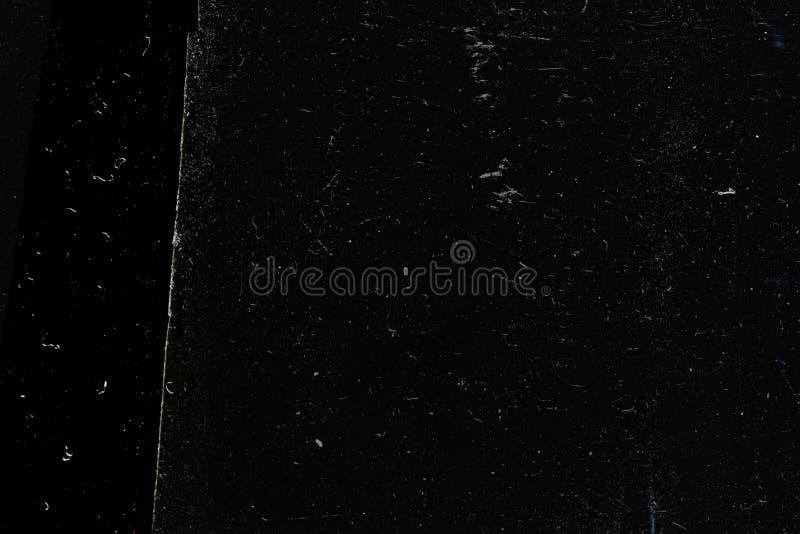 抽象黑难看的东西背景纹理,被佩带的老表面 免版税库存图片