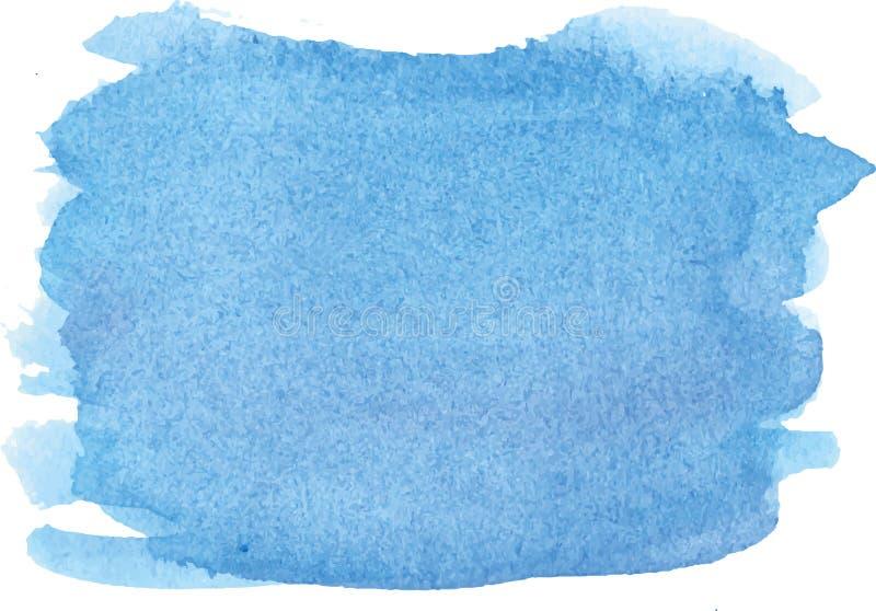 抽象水彩手油漆纹理 皇族释放例证