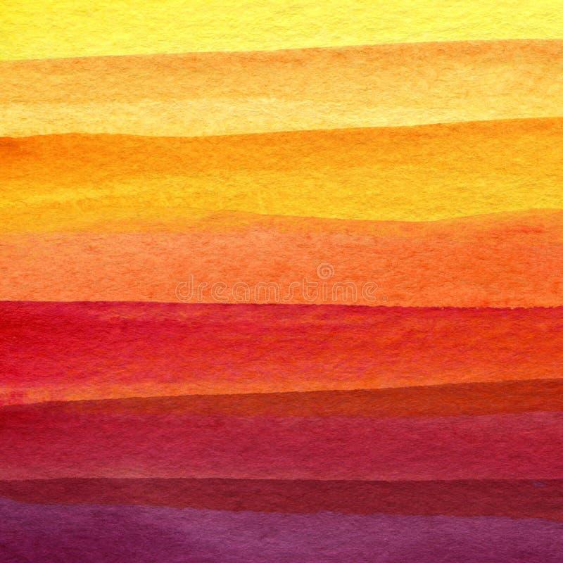 抽象水彩被绘的背景 库存图片