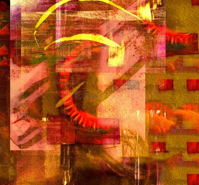 抽象水彩 免版税图库摄影