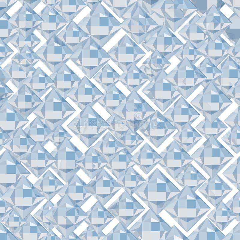 抽象水晶背景 皇族释放例证