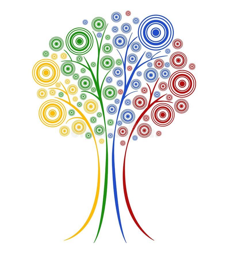 抽象结构树 库存例证