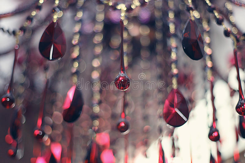 抽象玻璃垂饰 免版税图库摄影