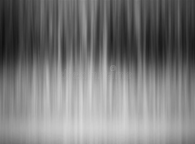 抽象黑白灰色镶边梯度典雅的水平的背景 向量例证