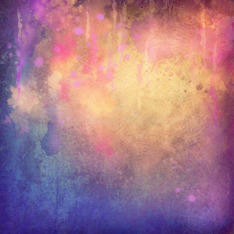 抽象绘画纹理背景 库存例证