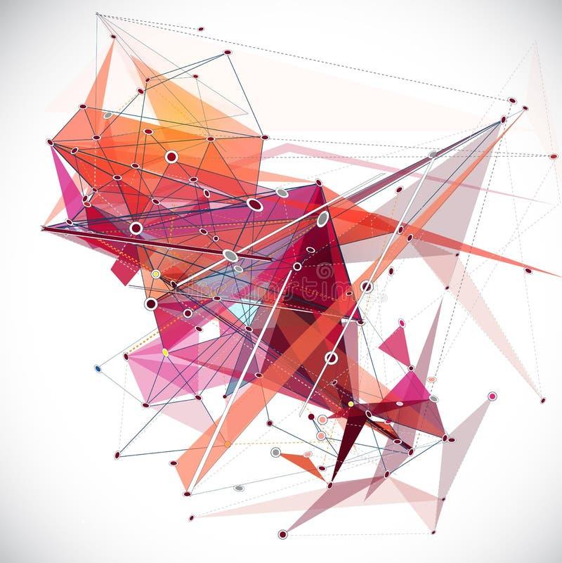 抽象滤网背景标示并且塑造用空白的圈子, fu 皇族释放例证