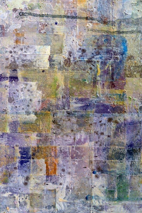 抽象绘画背景 图库摄影