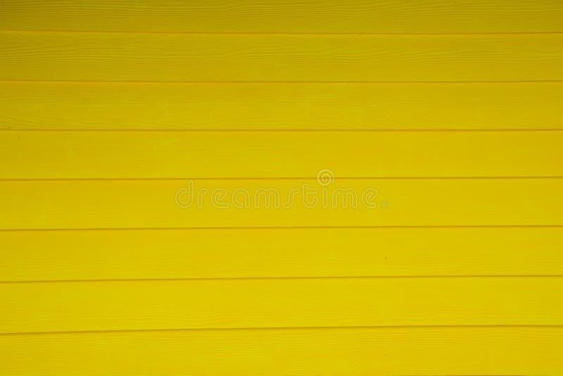 抽象黄色背景纹理木头墙壁 图库摄影