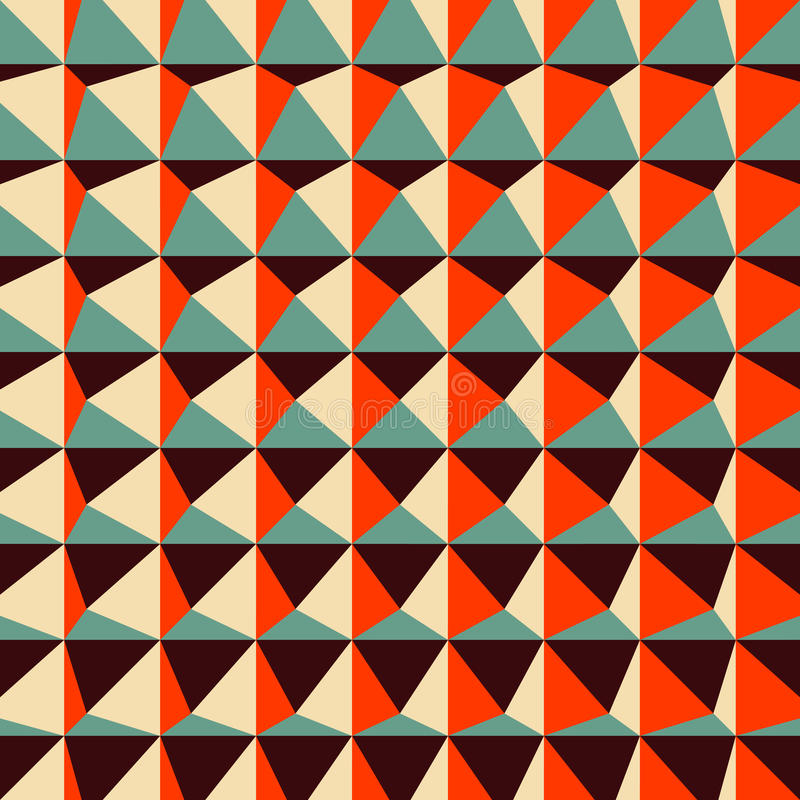 抽象3d几何样式 多角形 库存例证
