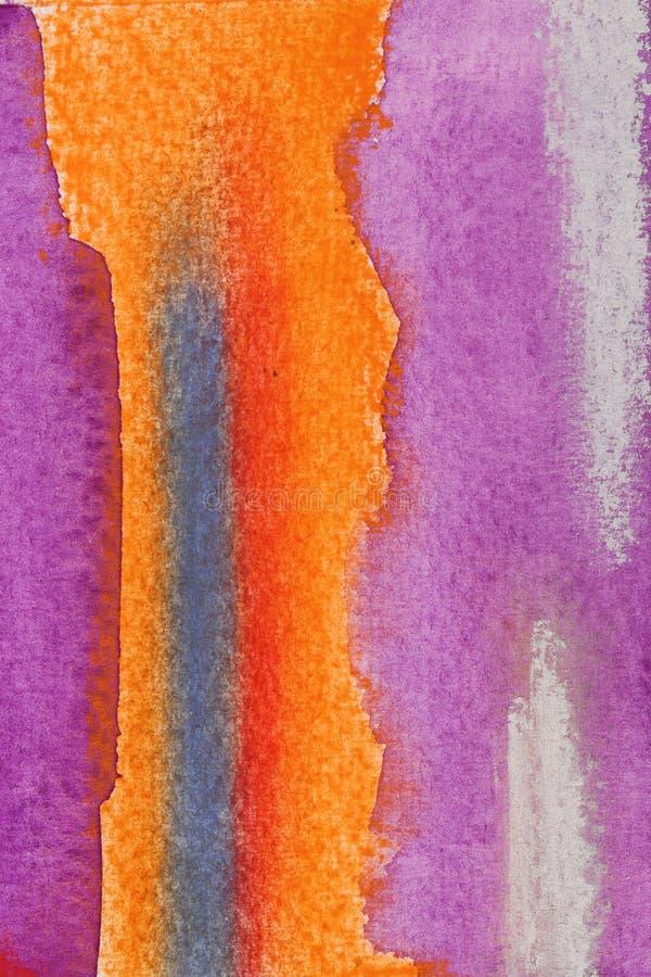 抽象aquarellle 皇族释放例证