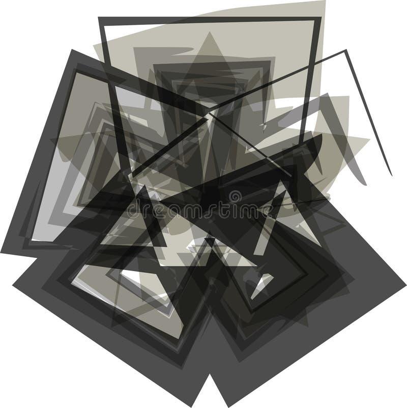 抽象asterik标志 向量例证