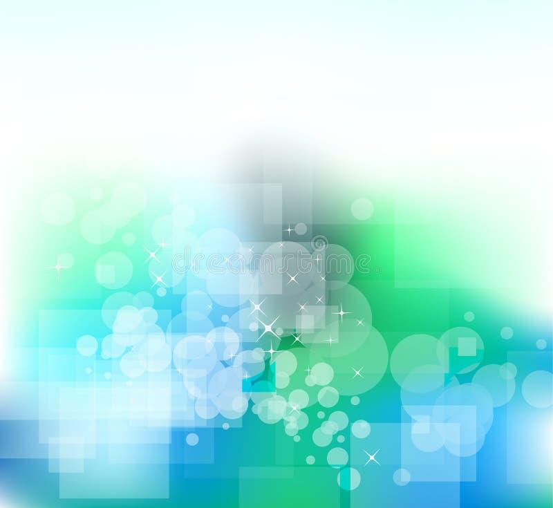 抽象bachground企业五颜六色的传单 皇族释放例证